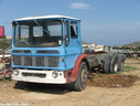 EAI587 1973 AEC Marshal Major TGM6RT21674 Chassis Cab.