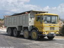 EAJ086  1973 AEC Mammoth Major SWB 8X4 Tipper
