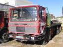 HAN018  1973 AEC Mammoth Major TG8R Platform converted to 6X4