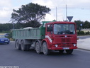 JHQ023 1973 AEC Mammoth Major TG8R 8X4 LWB Tipper