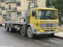 PDL010  1973 AEC Mammoth Major 8X4 Platform Truck  Plated to 24 tons.