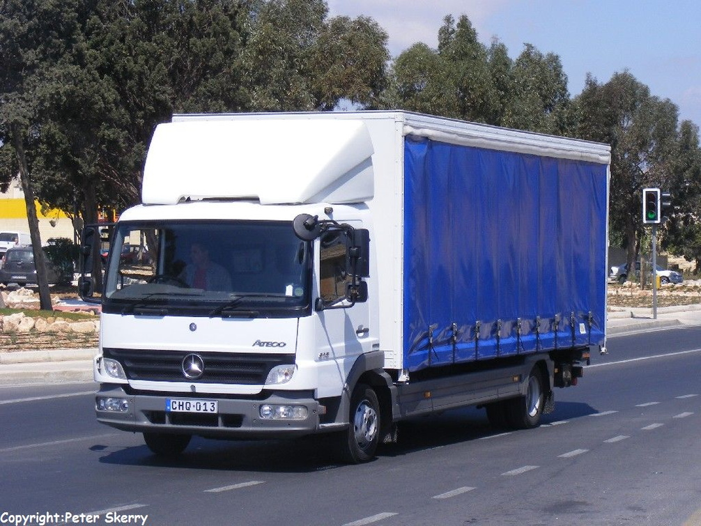 Chq013 2006 Mercedes Benz Atego 815 Curtainsider Images