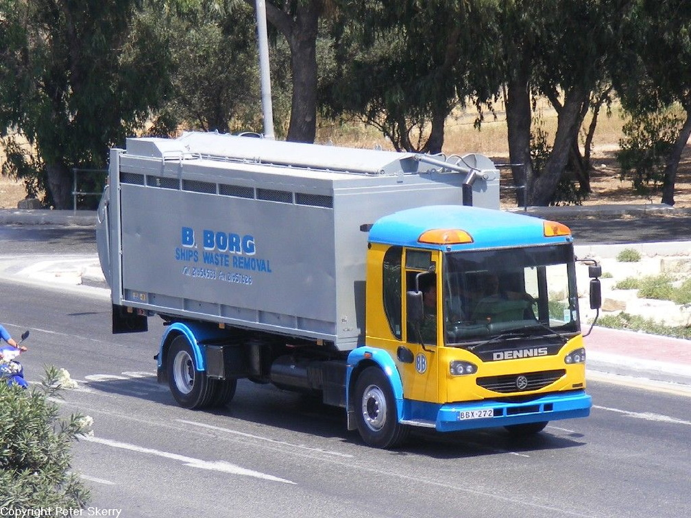BBX272 2007 Dennis Elite Refuse Vehicle