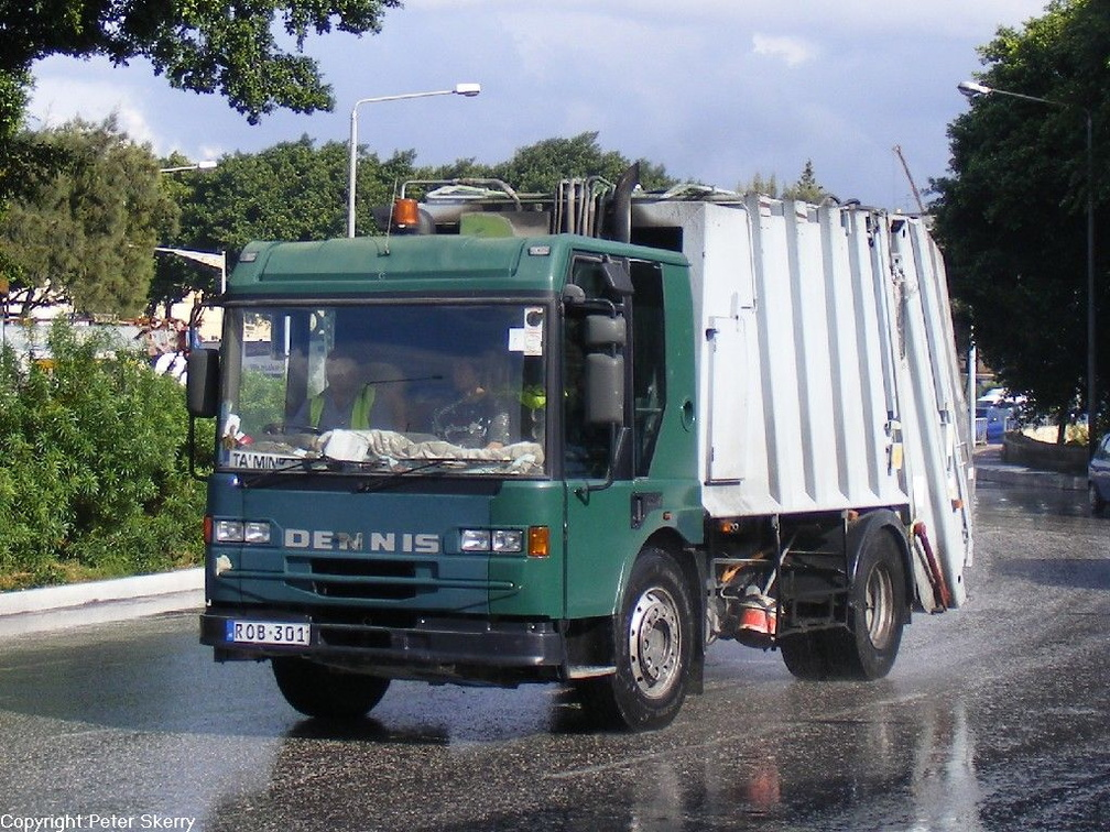 ROB301 2001 Dennis Elite 4X2 Refuse Collector