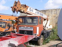 1988 Seddon Atkinson 3.11 Cab on a 1970's Coles 6X4 Mobile Crane and Chassis
