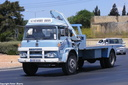 AHQ016 1975 Bedford KM Platform with Hiab.