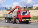DBB124 1982 Bedford TL with Hiab