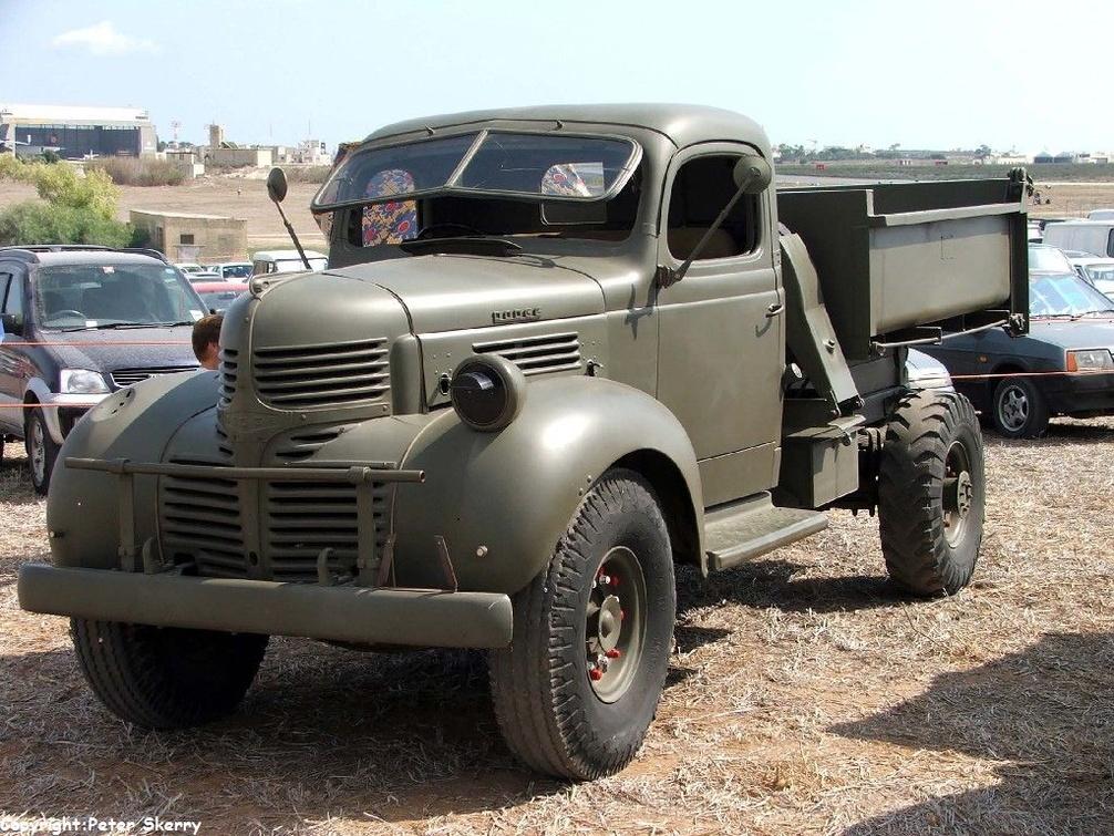 1944 Canadian Dodge D60s 3 Ton 4x2 Cargo Dump At Malta Air