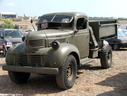 1944 Canadian Dodge D60S 3 Ton 4X2 Cargo Dump at Malta Air Show 2005.