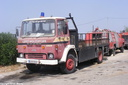 GVH553 1982 Dodge 100 Sereis Fire Recovery Truck.
