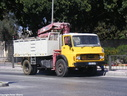 IAB337 1974 Dodge 500 Series 7 Ton Tipper with Hiab