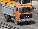 EAF671  1977 ERF B Series Tipper Plated to 16 Tons.