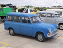 1966 Ford Anglia Van with windows