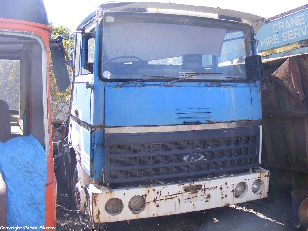1980 Ford Transcontinental 4427 6x4 Tractor Unit Images