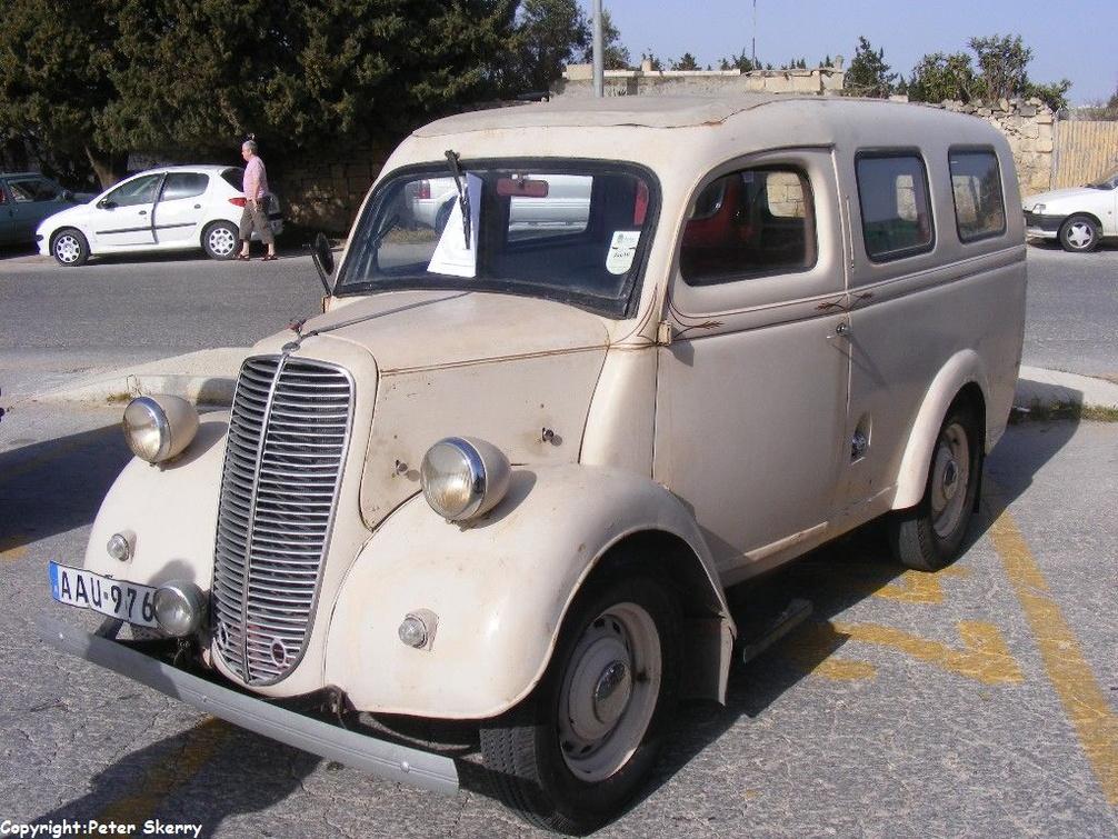 Aau976 1950 Fordson Thames E83w Estate Images Of Maltese