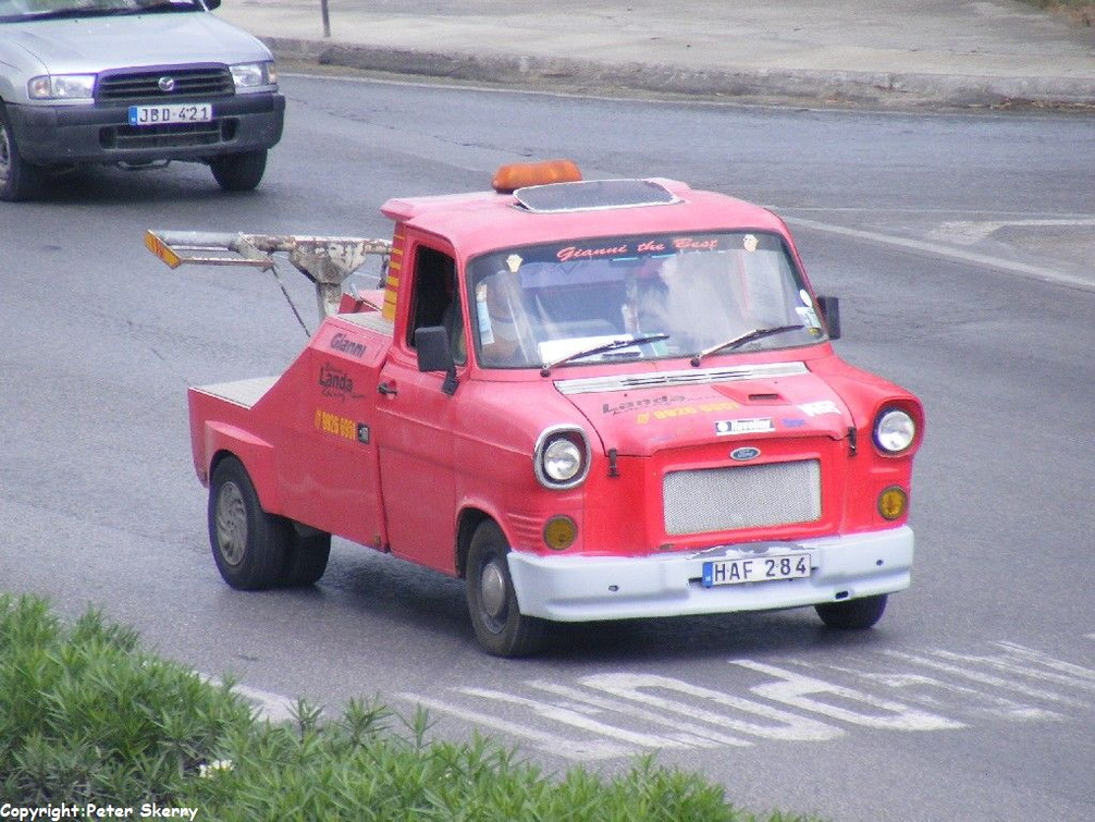 Haf284 1979 Ford Transit Mk1 Recovery Images Of Maltese