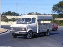 HAO412 1975 Ford A Series Dropside with roof (& Transit grille)