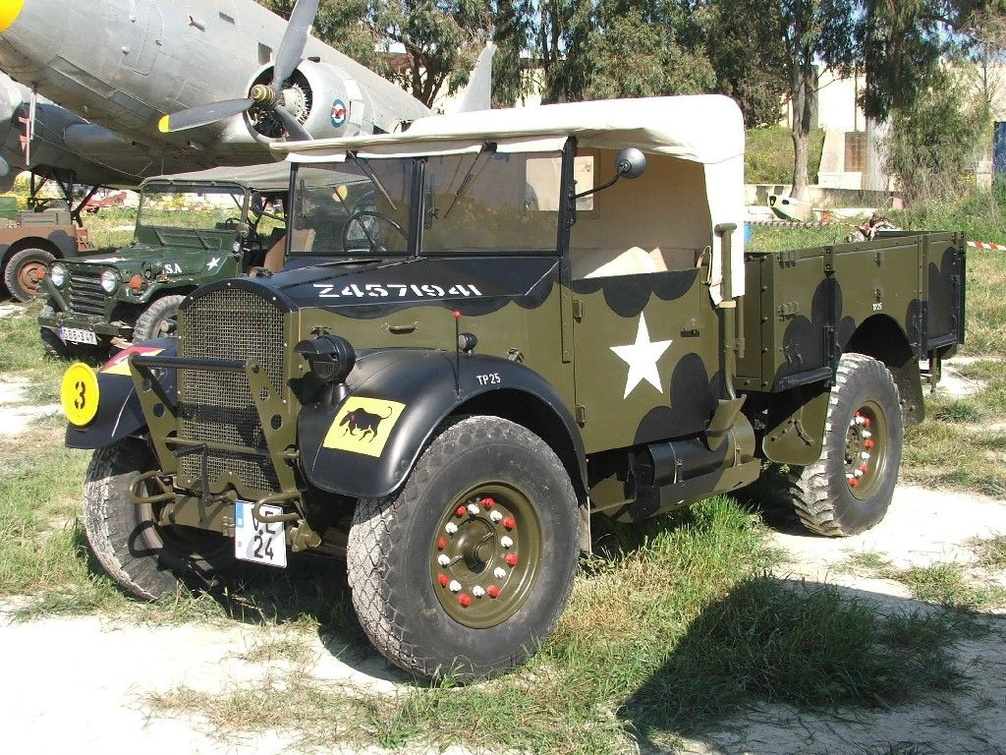 Ve 24 1942 Ford Wot 2h Gs 15 Cwt 4x2 Truck 30th Corps