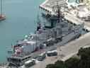 Italian Frigate ITS Artigliere F582 in Valletta 2006