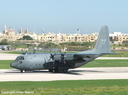 130317  435 Sqdn Lockheed CC.130E at Luqa 2006.