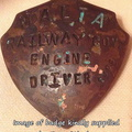 z Malta Railway Drivers Badge