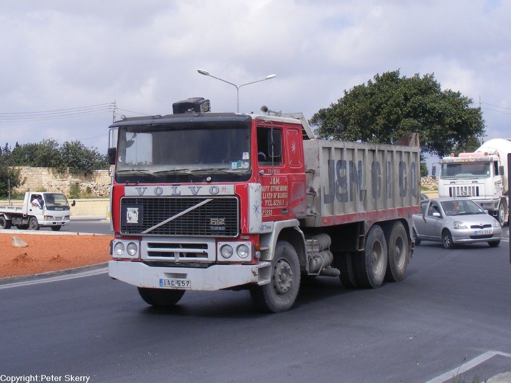 IAC557 1987 Volvo F12 Turbo Tipper - IAC557 1987 Volvo F12 Turbo ...