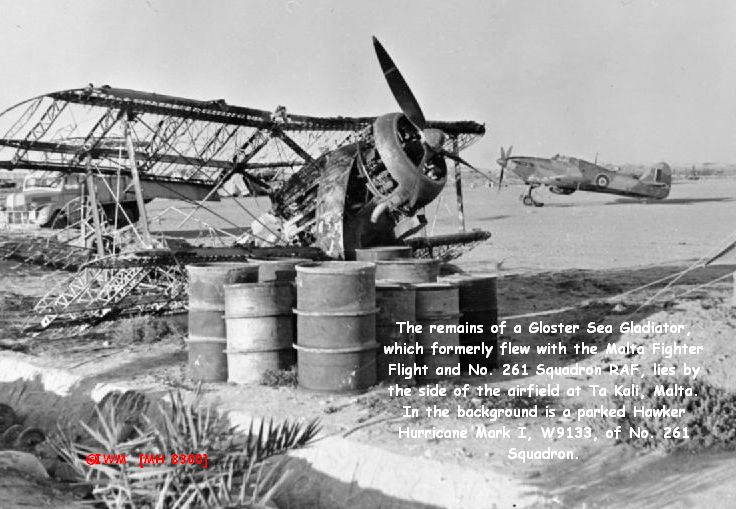Raf gladiator remains images of maltese buses and
