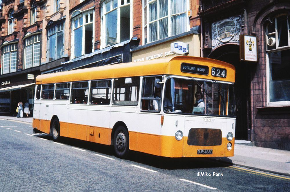 M-1526 as GMPTE DJP468E Wigan 19th. July 1977.jpg