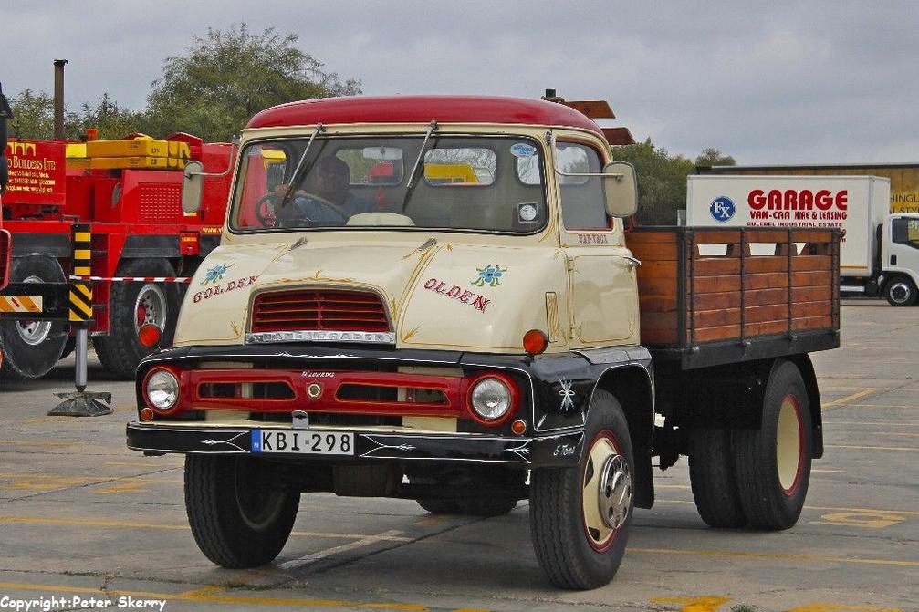 KBI298 1962 Ford Thames Trader Dropside | Images of Maltese Buses ...