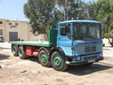 BHQ057  1972  AEC Mammoth Major TG8R Flatbed.