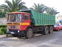 EAX806 1972 AEC Mammoth Major 6 Tipper