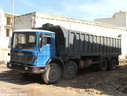 EBA862 1973  AEC Mammoth Major TG8R Tipper.                                     .