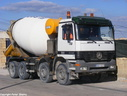 ABO537 1998 Mercedes Benz 4140 Actros 8X4 Cement Mixer