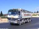 ASF003 2002 Mercedes 4143 Actros 8X4 Tipper