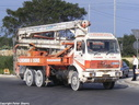 BBI247  1985 Mercedes Benz 2421 Concrete Pump
