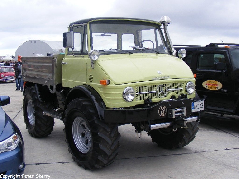 Mercedes Benz Trucks >> UNI406 1991 Mercedes Benz - Unimog U 406 | Images of ...