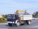 CAH517 1989 AWD TL Tiiper with Hiab