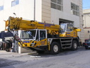 LCP696 1994 Demag AC95 Mobile Crane