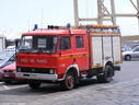 1986 Fiat OM Fire Engine Catania Docks