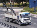 DBR539 1999 Volvo FM7 Dropside with Hiab