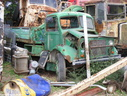 1943 Bedford OW Dropside with early Hiab