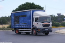 EHQ033  2001 ERF ECS Rigid Curtainsider