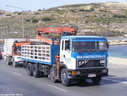 FAJ765 1987 ERF E14 8X4 Block Carrier