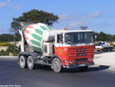 JAL706 1975 ERF B Series 6X4 Cement Mixer Plated to 24 Tons