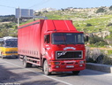 JHQ067  1989 ERF E10-325 Curtainsider Rigid