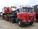 DHQ022 1976 Foden S.80 6X4 Tractor Plated to 125 Tons