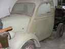 1952 Fordson Thames E83W Pick Up in restoration