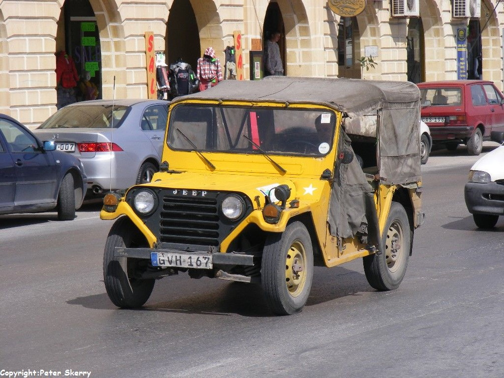 Gvh167 1972 Ford M151a2 Mutt Jeep Images Of Maltese