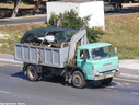 JAZ813 1973 Ford D Series dropside with Hiab
