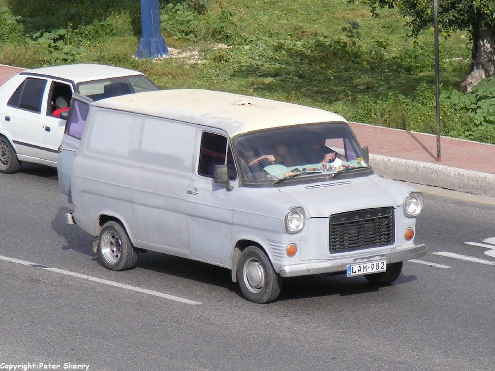 Lam982 1978 Ford Transit Mk1a Van Images Of Maltese